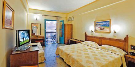 Kahden hengen huone, hotelli Nireus. Symi, Kreikka.