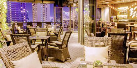 Ravintola, hotelli Northern Saigon. Vietnam.