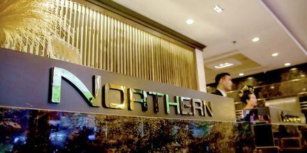 Vastaanotto. Hotelli Northern Saigon, Vietnam.