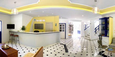 Vastaanotto, Hotelli Nostalgie, Georgiopolis, Kreeta.