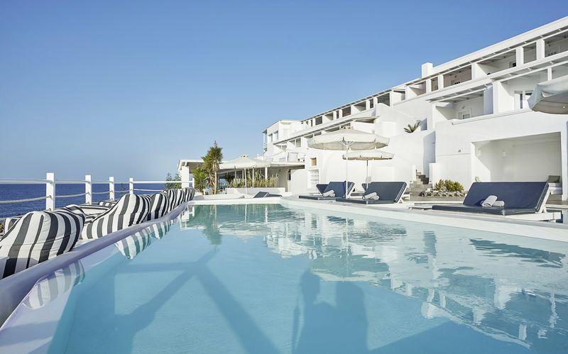 Hotelli Notos Therme & Spa, Santorini.