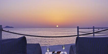 Näkymä junior-sviitistä, Hotelli Notos Therme & Spa, Santorini.