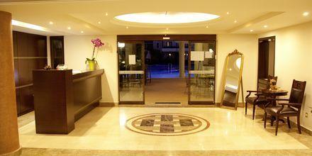 Vastaanotto, Okeanis Golden Resort, Kreeta, Kreikka.