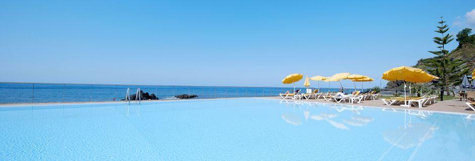 Allasalue, hotelli Orca Praia. Funchal, Madeira.