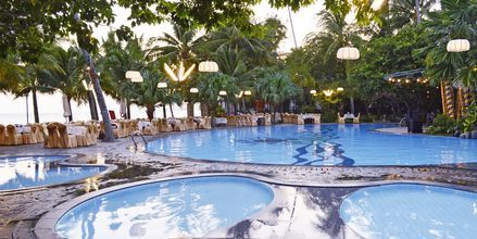 Allas. Hotelli Oriental Pearl Resort, Phan Thiet, Vietnam.