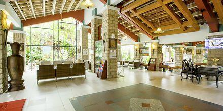 Vastaanotto. Hotelli Oriental Pearl Resort, Phan Thiet, Vietnam.