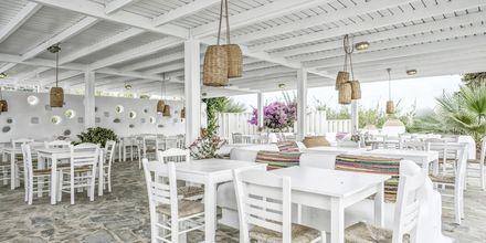 Snackbaari, hotelli Orkos Beach, Naxos.