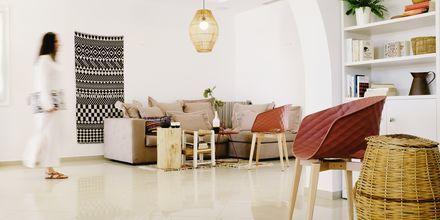 Aula, hotelli Orkos Beach, Naxos.