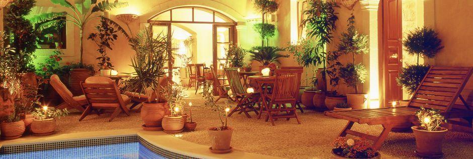 Allas. Hotelli Palazzino di Corina, Rethymnon, Kreeta.