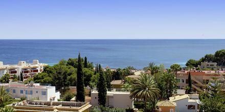 Näkymä Palma Novaan, Mallorca.