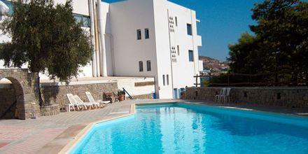 Allas. Hotelli Pandrossos, Paros, Kreikka.
