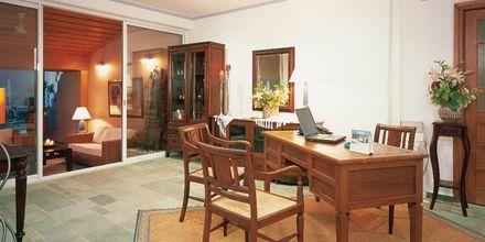Pienempi vastaanotto. Hotelli Panorama, Kreeta.
