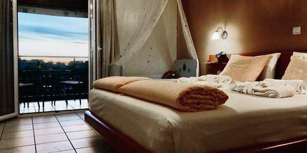 Yksiö. Hotelli Panthea, Parga, Kreikka.