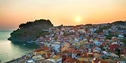 Pargan kaupunki, Parga, Kreikka.