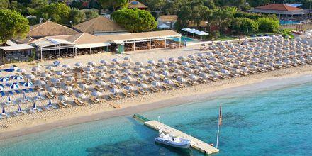 Läheinen ranta. Hotelli Parga Beach, Kreikka.