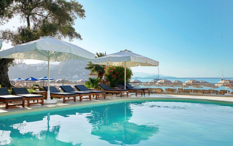 Allas. Hotelli Parga Beach, Kreikka.