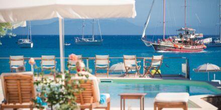 Allasalue Omega. Hotelli Parga Beach, Kreikka.