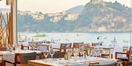 Ravintola. Hotelli Parga Beach, Kreikka.