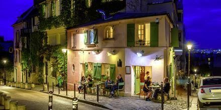 Ravintola Montmartressa, Pariisissa.