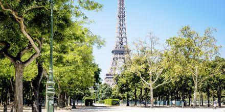 Eiffel-torni Pariisissa – kaupungin suosituin nähtävyys.