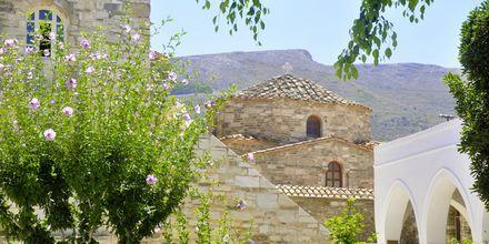 Bysantin kirkko. Paros, Kreikka.