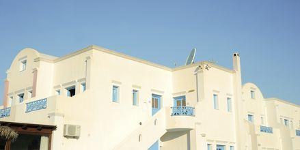 Hotelli Perissa Bay, Santorini.