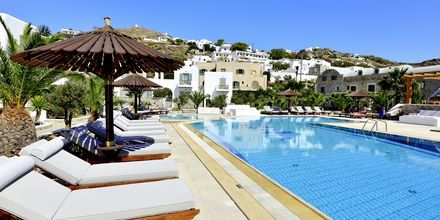 Allasalue. Hotelli Petros Place, Ios, Kreikka.