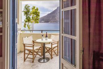 Kahden hengen huone, Hotelli Philoxenia, Massouri, Kalymnos, Kreikka.