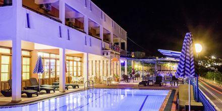 Allasalue, hotelli Philoxenia, Massouri, Kalymnos, Kreikka.