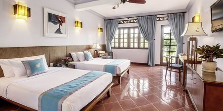 Deluxe-huone, Hotelli Phu Hai Resort, Phan Thiet, Vietnam.
