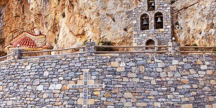 Plakiaksen alueella on useita nähtävyyksiä, kuten tämä pieni vuoristoon rakennettu kappeli.