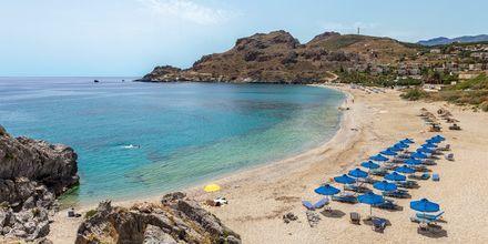 Kaunis ranta lähellä Plakiasta, Kreeta, Kreikka.