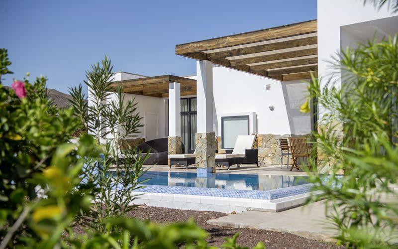 Kolmen hengen villa, Playitas Villas, Fuerteventura.