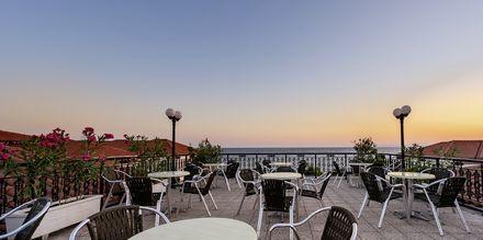 Kattoterassi, hotelli Porto Iliessa. Argassi, Zakynthos.