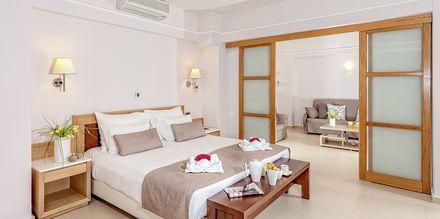 Perhehuone, Hotelli Porto Platanias Beach & Spa, Kreeta