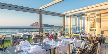 Ravintola, hotelli Porto Platanias Luxury Selection.