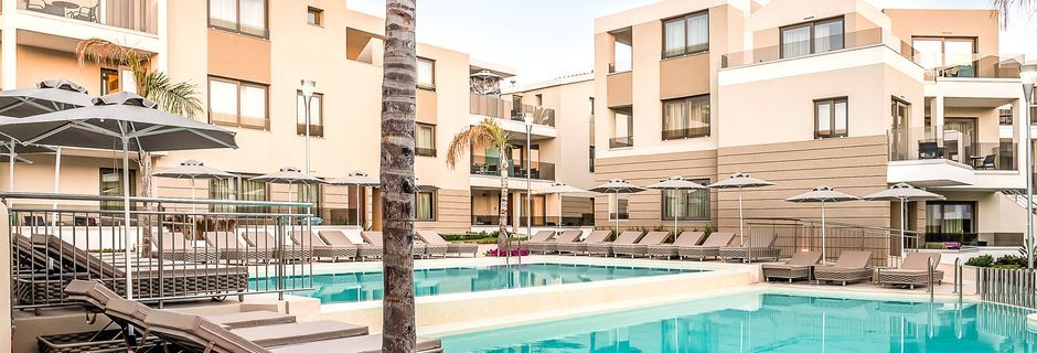 Allasalue, hotelli Porto Platanias Luxury Selection.