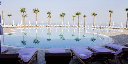 Allasalue. Hotelli Prestige Resort, Durresin Riviera, Albania.