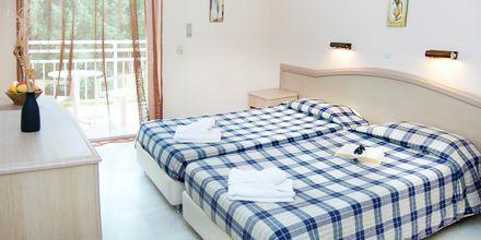 Kahden hengen huone. Hotelli Primavera, Dassia, Korfu.