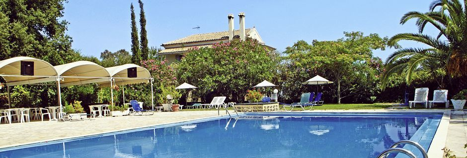 Allas, Hotelli Primavera, Dassia, Korfu.
