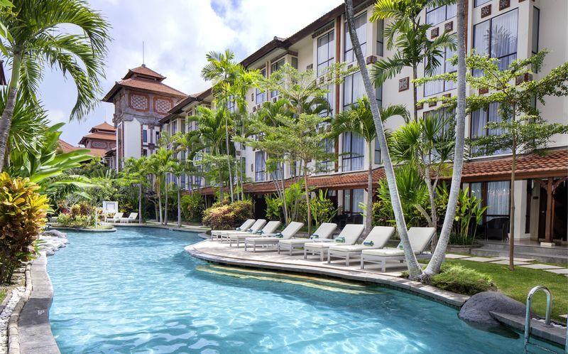 Allasalue, Hotelli Prime Plaza Sanur, Bali.