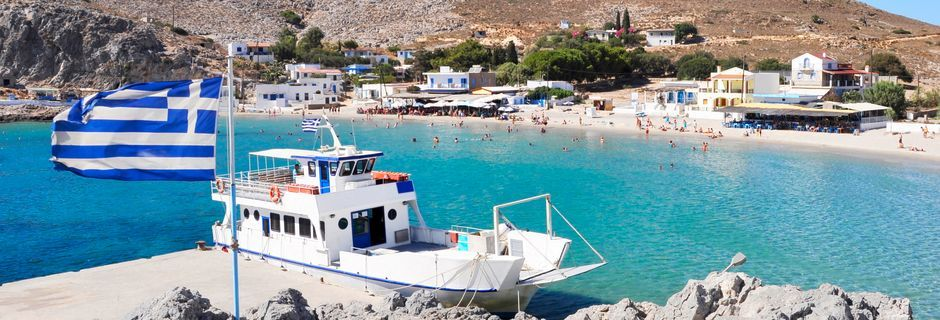 Pserimos, Kreikka.