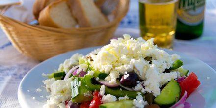Kreikkalaista salaattia.