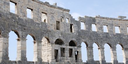 Amfiteatteri, Pula, Kroatia.