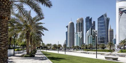 Rantakatu Dohassa, Qatar.