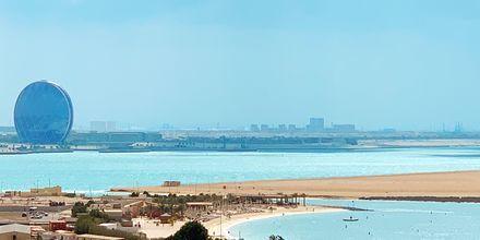 Beach Club, hotelli Radisson Blu Yas Island. Abu Dhabi.