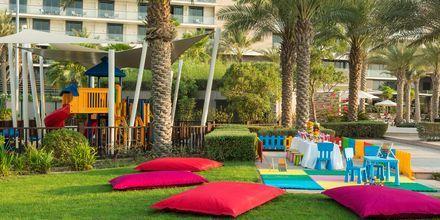 Leikkipaikka, Hotelli Radisson Blu Yas Island. Yas Island, Abu Dhabi.