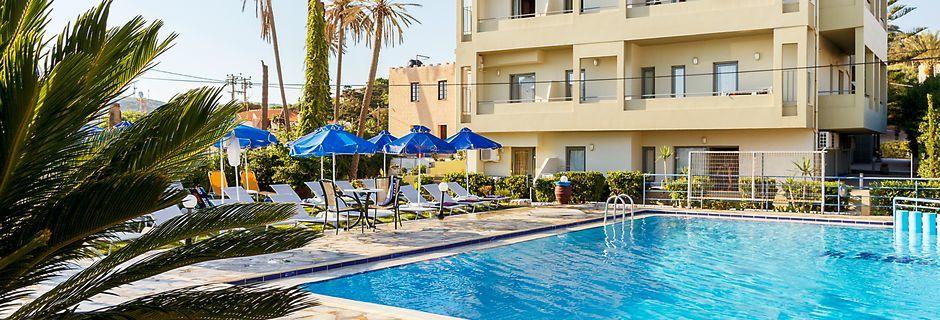 Hotelli Rania, Platanias, Kreeta