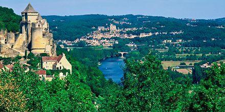 Ranskan kaunis maaseutu.