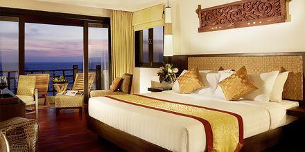 Deluxe -huone, hotelli Rawi Warin. Koh Lanta, Thaimaa.